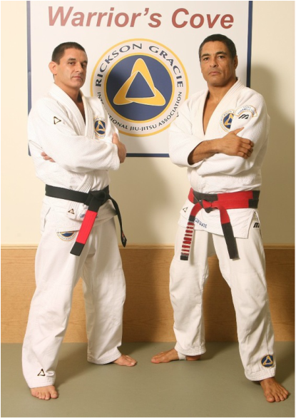 David Arnebeck and Rickson Gracie